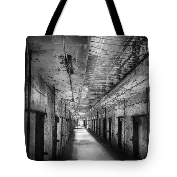 Jail - Eastern State Penitentiary - The forgotten ones  Tote Bag by Mike Savad