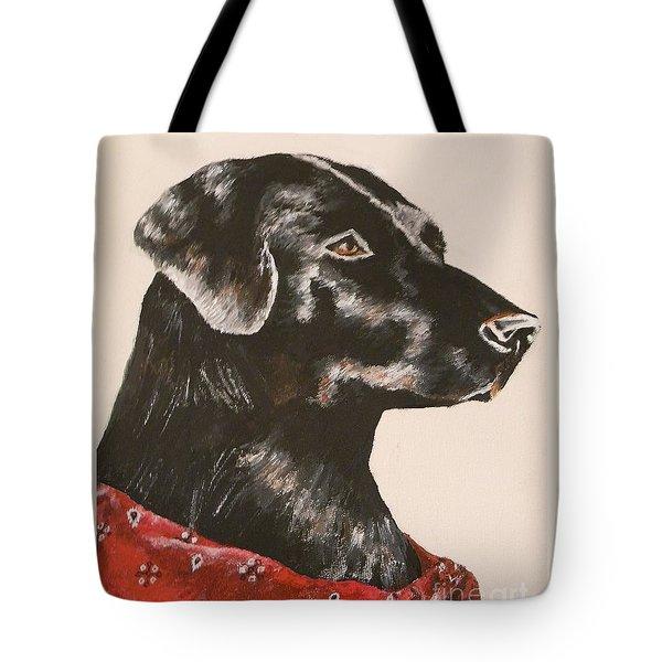 Jake Tote Bag by Lisa Bentley