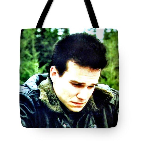 James Tote Bag by Luis Ludzska