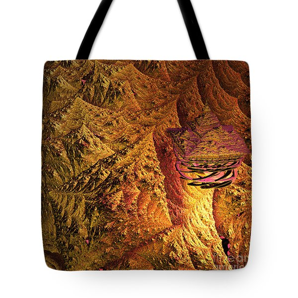 jammer Floating Palace Tote Bag by First Star Art