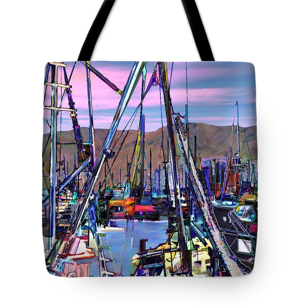 Jammin at twilight Tote Bag by Kurt Van Wagner