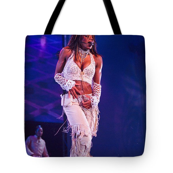 Janet Jackson-01 Tote Bag by Timothy Bischoff