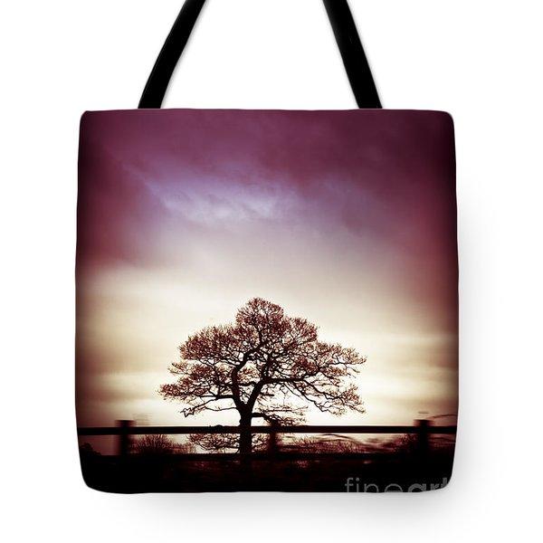 January Dusk Tote Bag by Jan Bickerton