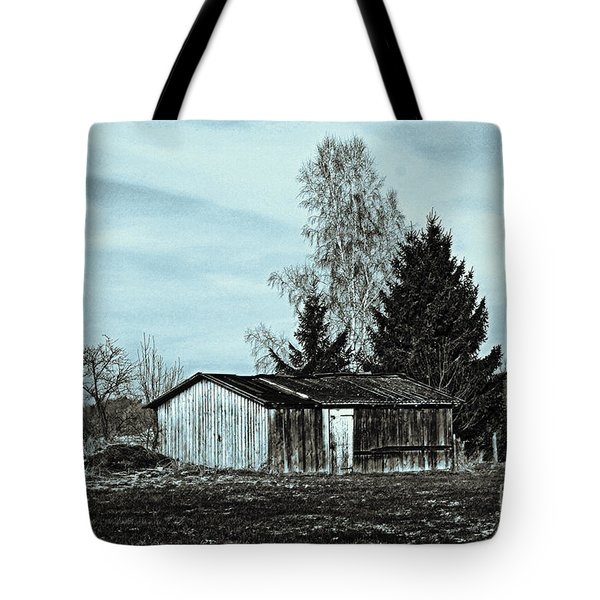 January Sadness Tote Bag by Jutta Maria Pusl