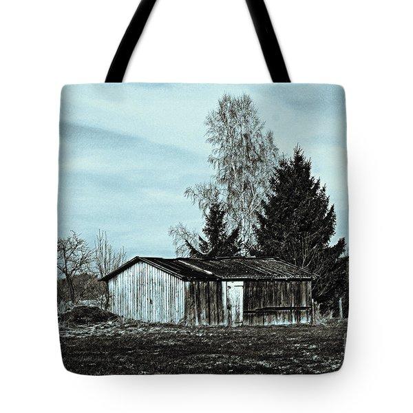 January Sadness Tote Bag by Jutta Maria Pusl