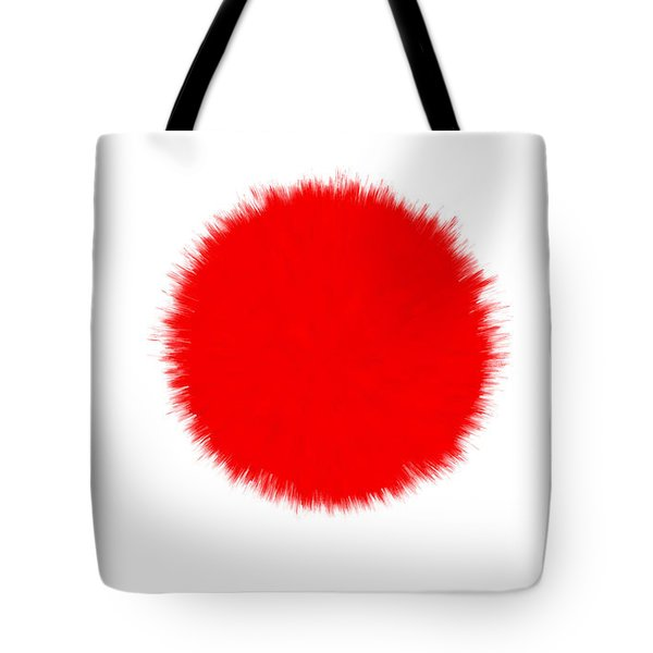 JAPAN FLAG Tote Bag by Daniel Hagerman