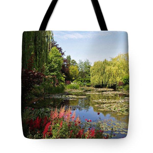Jardin D'eau Tote Bag by Alex Cassels