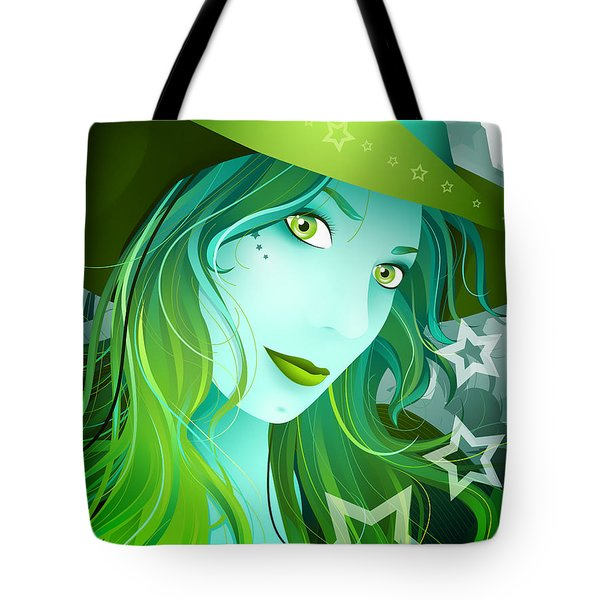 Jasmin Tote Bag by Sandra Hoefer