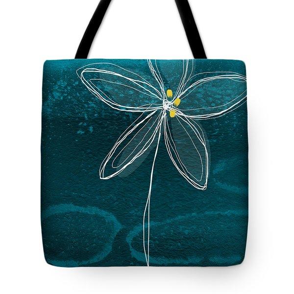 Jasmine Flower Tote Bag by Linda Woods