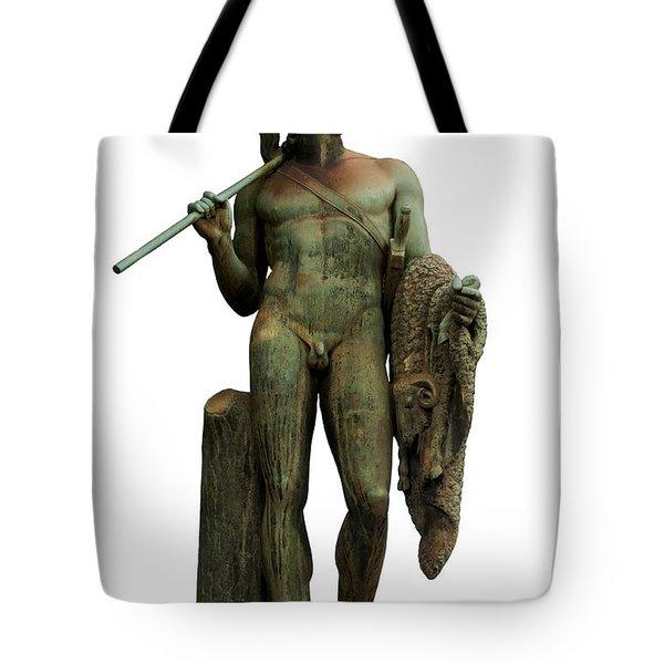 Jason and the golden fleece Tote Bag by Fabrizio Troiani