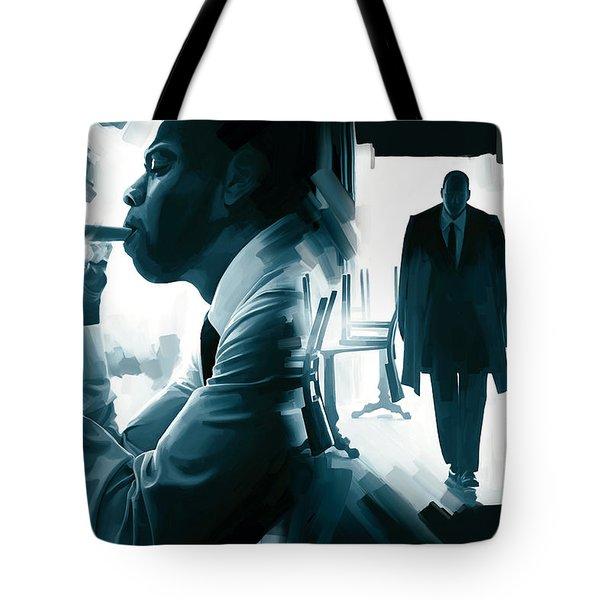 Jay-z Artwork 3 Tote Bag by Sheraz A