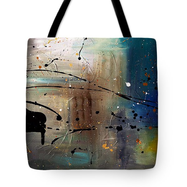 Jazz Night Tote Bag by Carmen Guedez