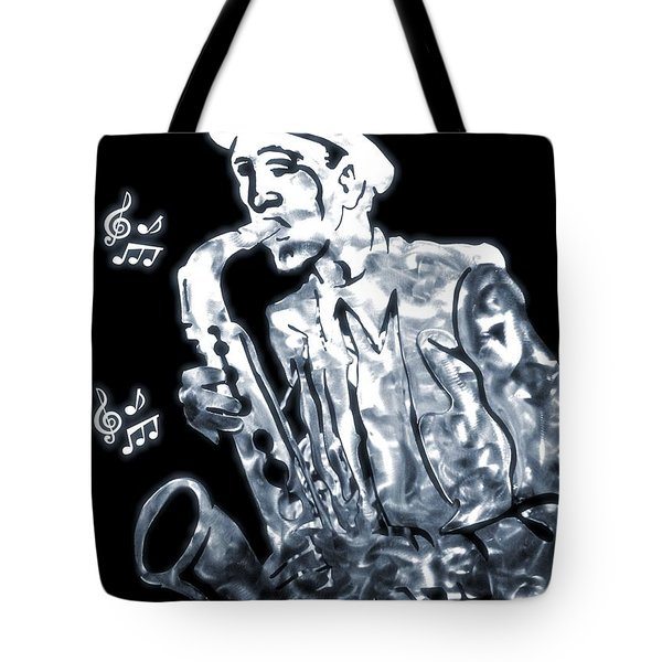 Jazz Notes Tote Bag by Dan Sproul