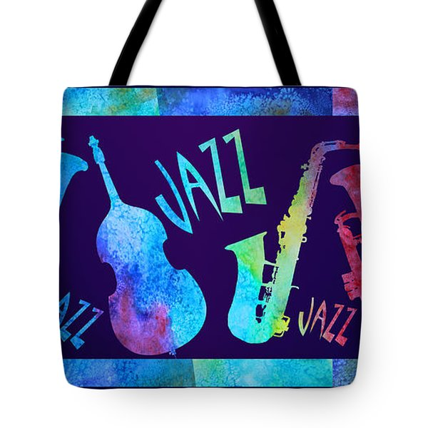 Jazzy Combo Tote Bag by Jenny Armitage