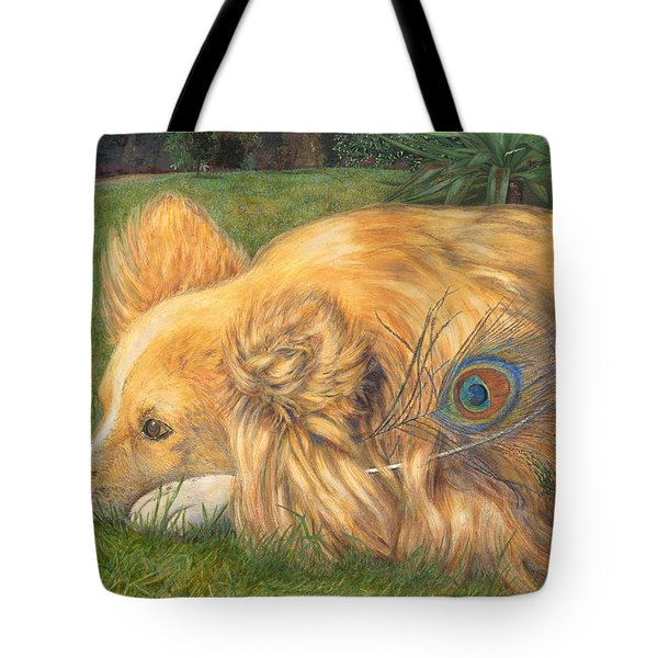 Jealous Jessie Tote Bag by Emily Hunt and William Holman Hunt