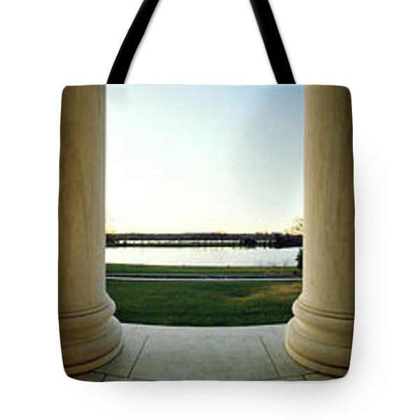 Jefferson Memorial Washington Dc Tote Bag by Panoramic Images