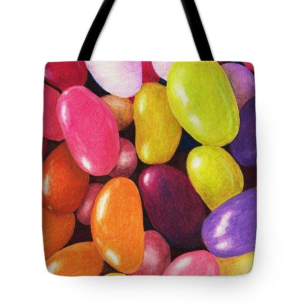 Jelly Beans Tote Bag by Anastasiya Malakhova