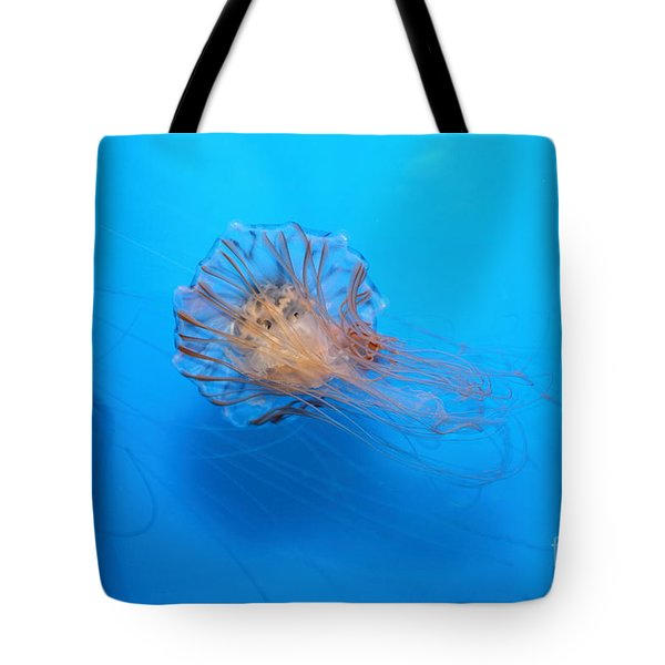Jelly Fish 5D24944 Tote Bag by Wingsdomain Art and Photography