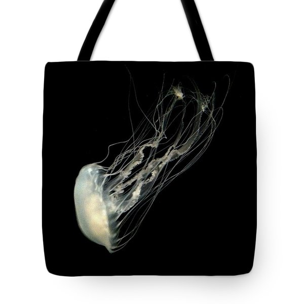 Jelly Fish Tote Bag by Robin Lewis