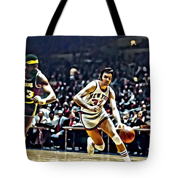 Jerry Lucas Tote Bag by Florian Rodarte