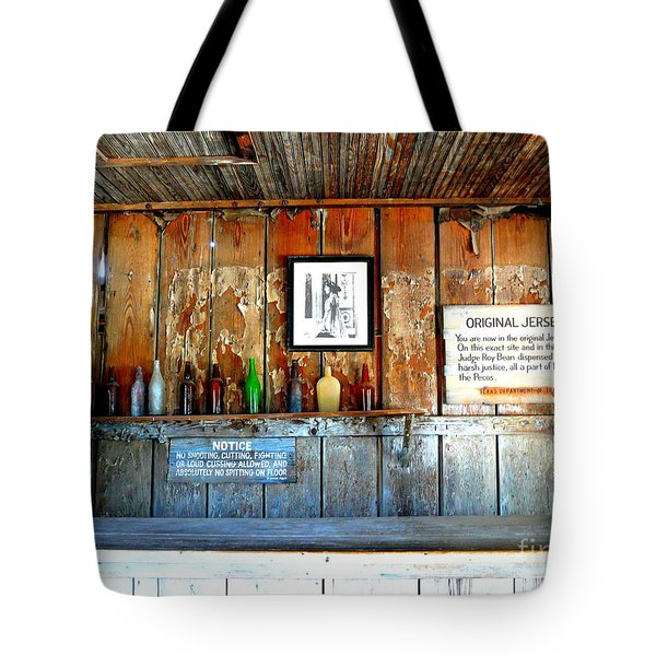 Jersey Lilly Saloon Tote Bag by Avis  Noelle