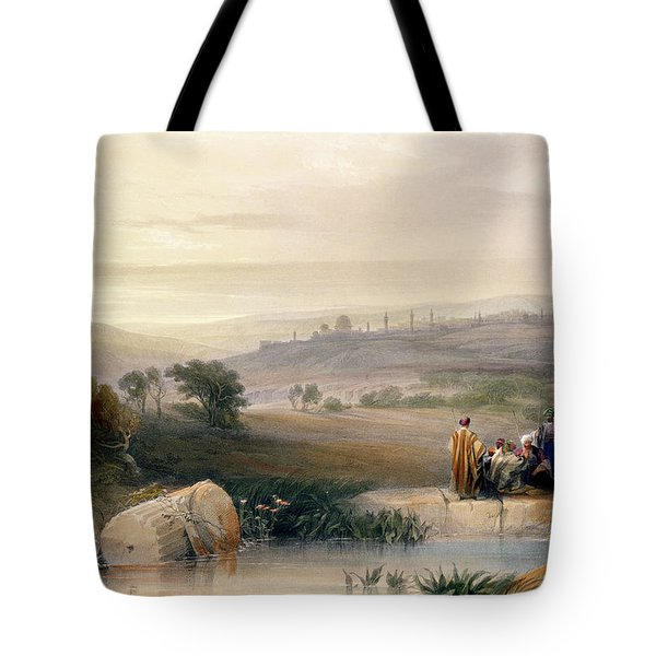 Jerusalem, April 1839 Tote Bag by David Roberts