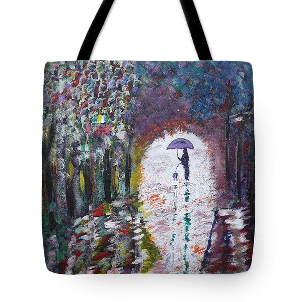 Jesse And Cree Tote Bag by D Freeman