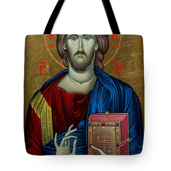 Jesus Christ Tote Bag by Claud Religious Art