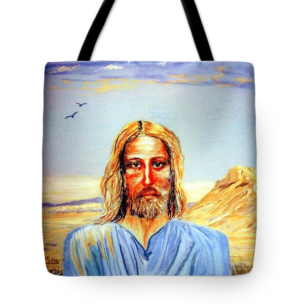 Jesus Tote Bag by Jane Small