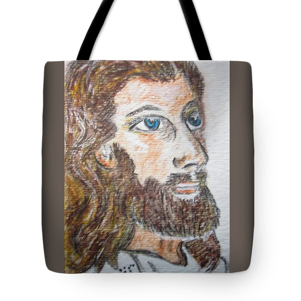 Jesus Our Saviour Tote Bag by Kathy Marrs Chandler