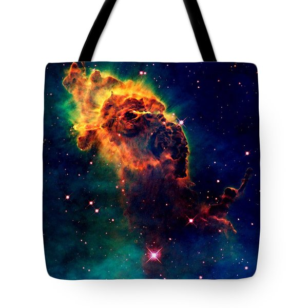 Jet in Carina Tote Bag by Amanda Struz