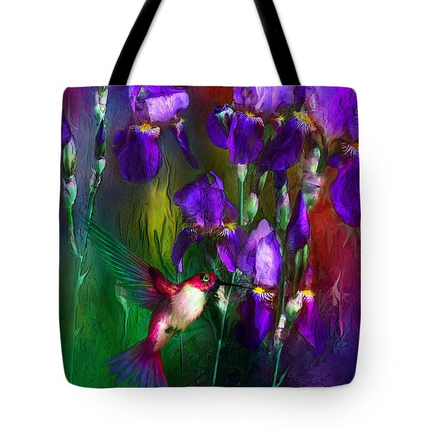 Jewels Of Summer Tote Bag by Carol Cavalaris