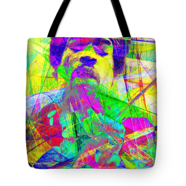 Jimi Hendrix 20130613 Tote Bag by Wingsdomain Art and Photography