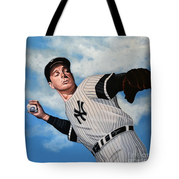 Joe Dimaggio Tote Bag by Paul Meijering