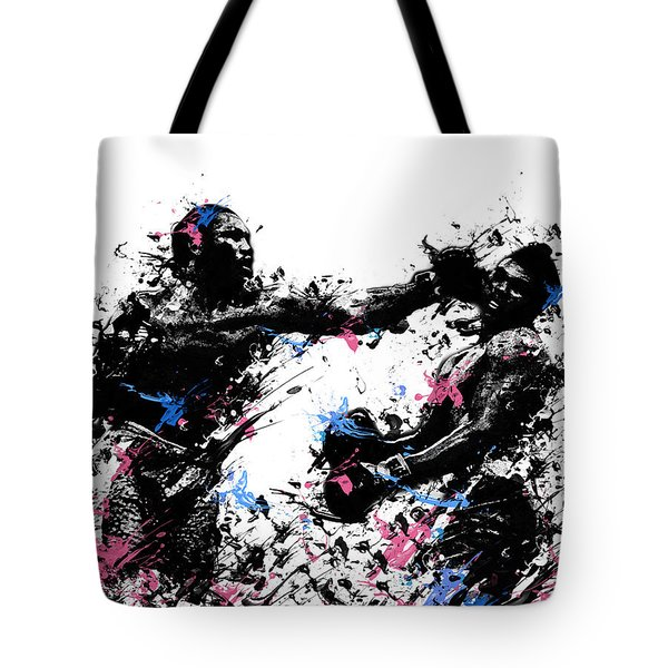 Joe Frazier Tote Bag by Bekim Art