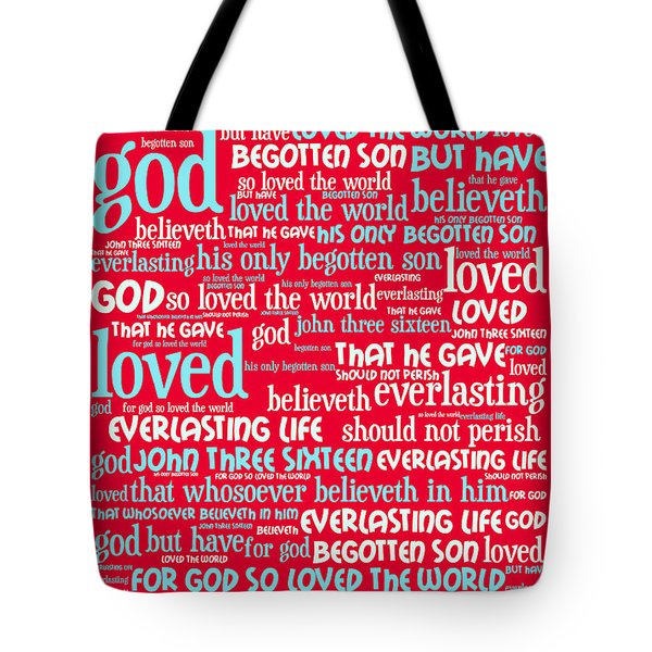 John 3-16 For God So Loved The World 20130622p120 Vertical Tote Bag by Wingsdomain Art and Photography