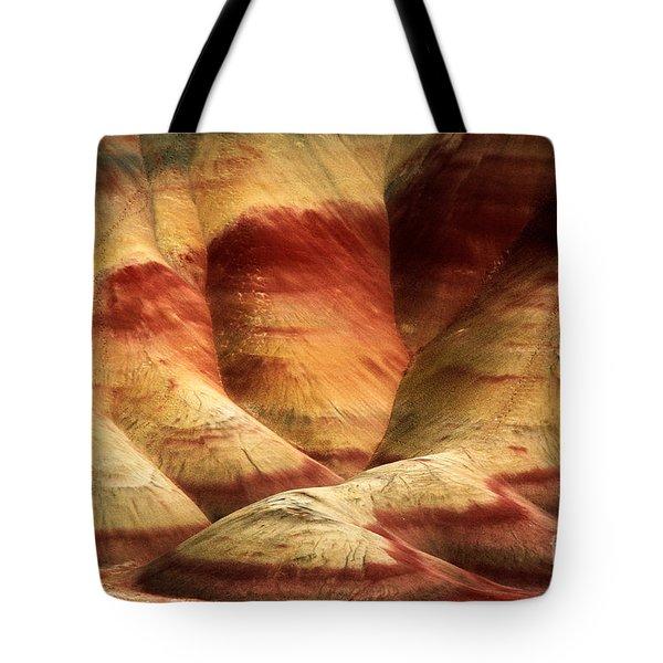 John Day Martian Landscape Tote Bag by Inge Johnsson