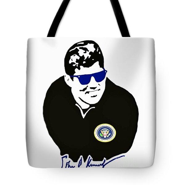 John F Kennedy Signature Wayfarer Tote Bag by Jost Houk