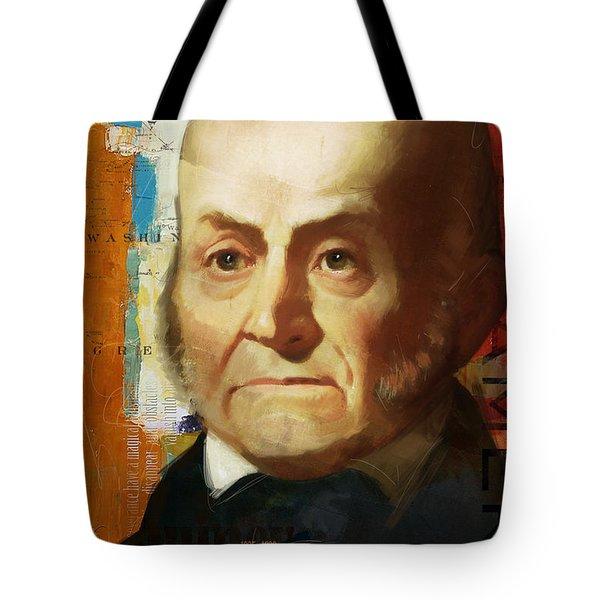 John Quincy Adams Tote Bag by Corporate Art Task Force
