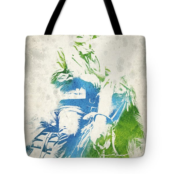 John Wayne  Tote Bag by Aged Pixel