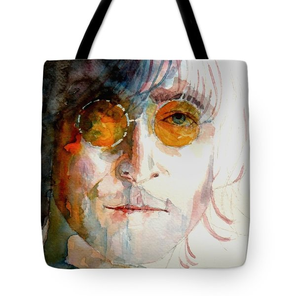 John Winston Lennon Tote Bag by Paul Lovering