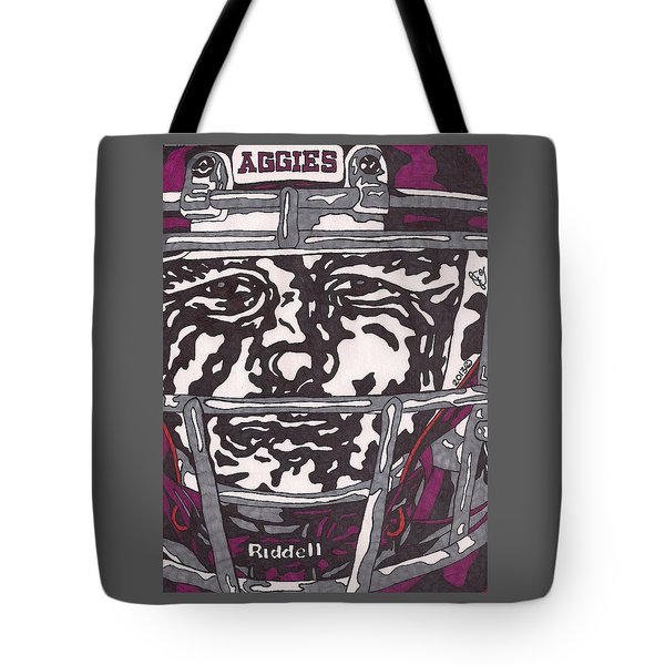 Johnny Manziel 16 Tote Bag by Jeremiah Colley