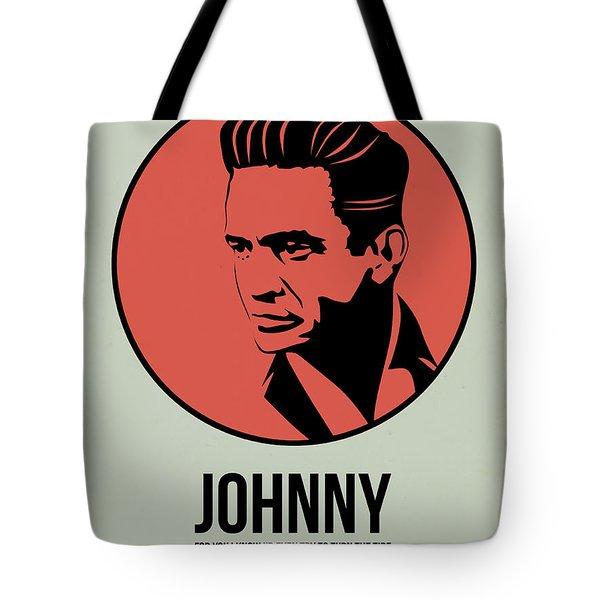 Johnny Poster 2 Tote Bag by Naxart Studio