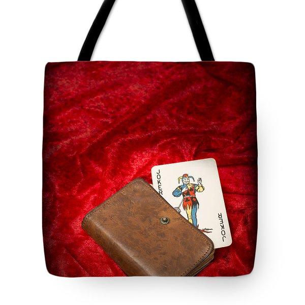 Joker Tote Bag by Amanda And Christopher Elwell