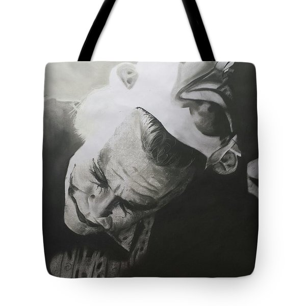 Joker Tote Bag by Jimmy Chard
