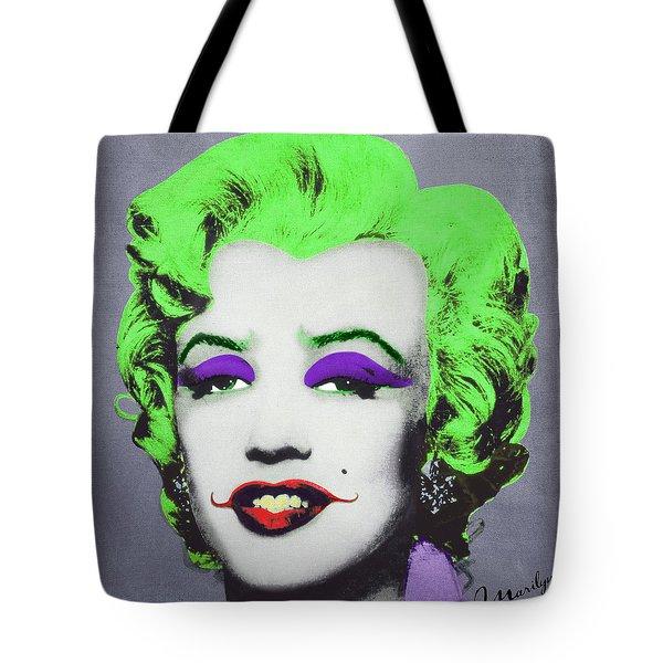 Joker Marilyn Tote Bag by Filippo B