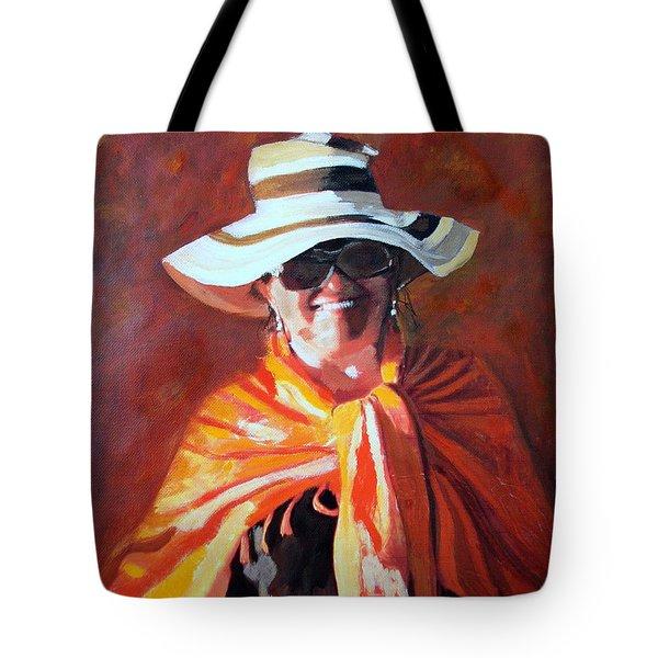 Jolanta By Sharon Burger Tote Bag by Jolanta Anna Karolska