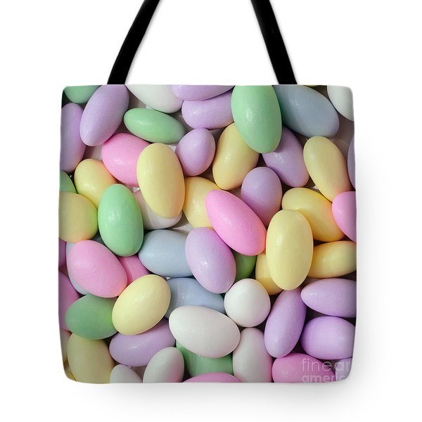 Jordan Almonds - Weddings - Candy Shop - Square Tote Bag by Andee Design