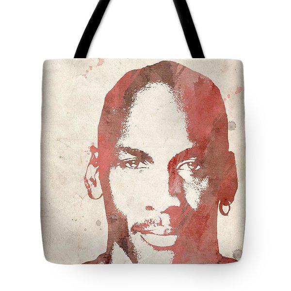 Jordan Tote Bag by Paulette B Wright