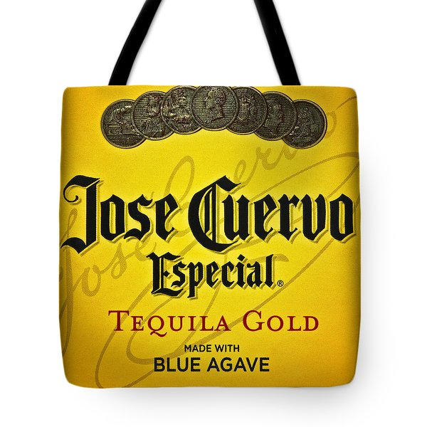 Jose Cuervo Tequila Art Tote Bag by Frozen in Time Fine Art Photography